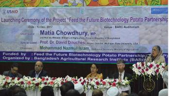 'খাদ্যঘাটতি মোকাবিলায় জিএম ফসলের দিকে যেতে হবে'