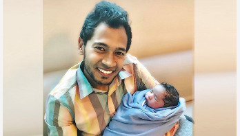 Mushfiqur blessed with a baby boy