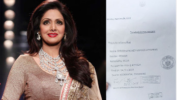 Sridevi 'died of accidental drowning in bathtub'
