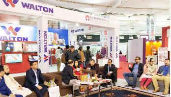 Nepalese praises Walton goods at Bangladesh Expo in Kathmandu
