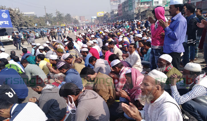 2nd phase Ijtema ends seeking divine blessings