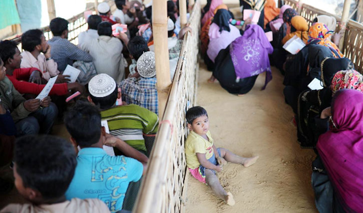 Tensions mount in Rohingya camps over returns to Myanmar