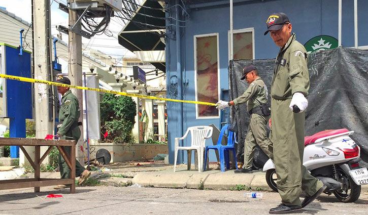 Three killed in Thai motorcycle bomb blast