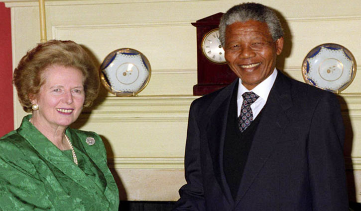 Margaret Thatcher 'wanted a whites-only South Africa'