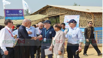 Swiss President for dignified return of Rohingyas