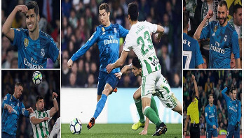Asensio stars as Real Madrid win 8-goal thriller