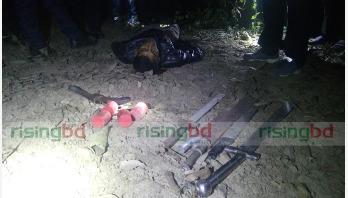 Chuadanga gunfight kills 1