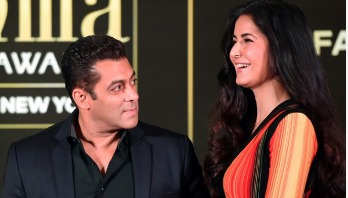 Katrina falls in trouble as she laughs