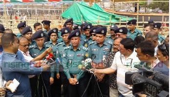 3,500 police men for PM's rally in Khulna