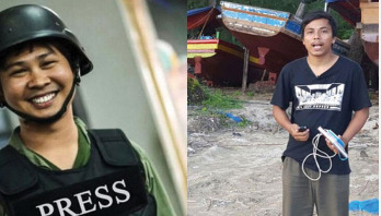 Two Reuters journalists arrested in Myanmar