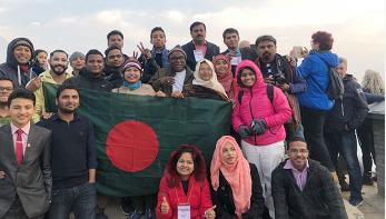 সুন্দর পৃথিবী গড়তে নেপালে বাংলাদেশের তরুণরা