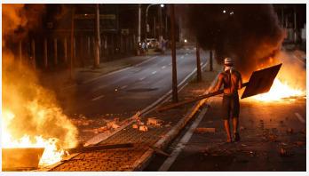 Police strike leaves over 100 dead in Brazil