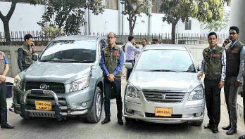 WB submits 2 vehicles to Customs Intelligence