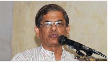 গণতন্ত্র পুনরুদ্ধার না হওয়া পর্যন্ত আন্দোলন : ফখরুল
