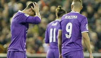 Real face shock defeat to Valencia