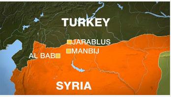 Suicide bombers kill dozens near Al Bab