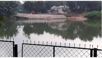 নাসিরনগরে বিরোধপূর্ণ পুকুর দখল