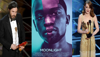 'Moonlight' best picture at Oscars 2017