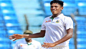 Mustafiz gets wicket in SL tour match