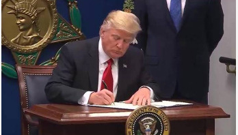 Trump issues new travel ban order