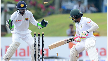 Bangladesh vs Sri Lanka, 1st Test: Rain stops play