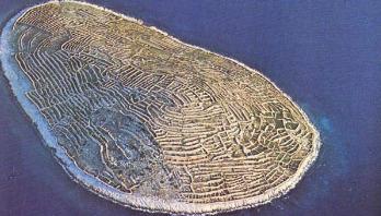This Croatian island looks like a giant fingerprint