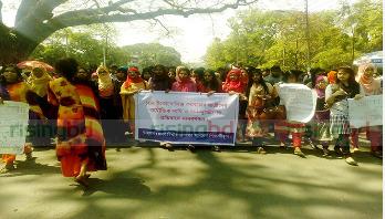 DU students oppose Home Economics girls' demand