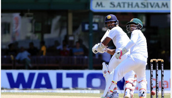 Tigers' 100th Test: Sri Lanka 268-8 at stamps on Day 4
