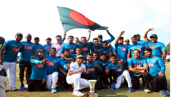 Bangladesh witness a glorious victory