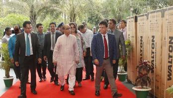 PM's adviser H T Imam visits Walton Industrial Park