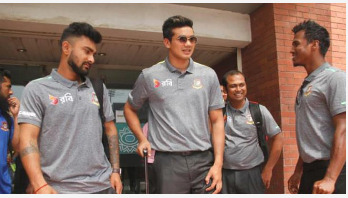Bangladesh team depart for Sri Lanka
