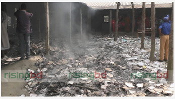 Setting fire to school: Take action against culprits