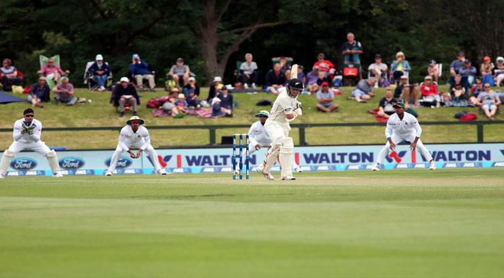 বাংলাদেশ-নিউজিল্যান্ড টেস্ট ।। দ্বিতীয় দিন শেষে ২৯ রানে এগিয়ে বাংলাদেশ