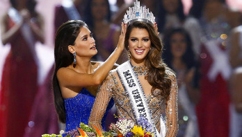 French dental student crowns Miss Universe