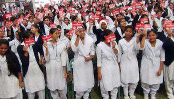 Red card to child marriage