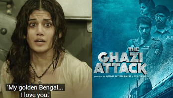 Watch: Taapsee Pannu plays Bengali girl in 'The Ghazi Attack'