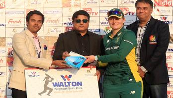 Bangladesh Women face huge defeat in first ODI