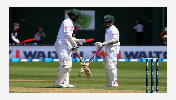 Shakib-Mushfiq record partnership lifts Bangladesh