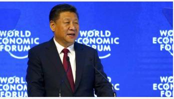 China's Xi Jinping defends globalization at Davos