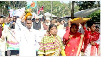পিরোজপুরে মতুয়া মিশনের প্রতিনিধি সম্মেলন