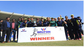 Bangladesh Women lose series by 4-1