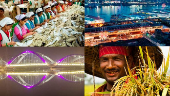 Bangladesh moves to development like Singapore