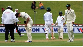 ছবিতে বাংলাদেশ-নিউজিল্যান্ড প্রথম টেস্টের প্রথম দিন