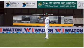 ছবিতে বাংলাদেশ-নিউজিল্যান্ড প্রথম টেস্টের তৃতীয় দিন