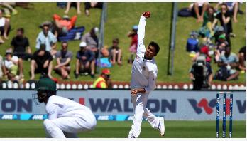 ছবিতে বাংলাদেশ-নিউজিল্যান্ড প্রথম টেস্টের পঞ্চম দিন