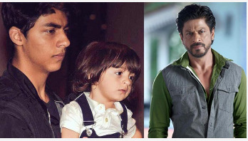 SRK threatens to behead his sons if they…