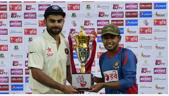 বাংলাদেশ-ভারত টেস্ট এক দিন পিছিয়ে গেল