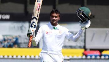 Shakib attains career-best Test ranking