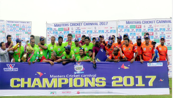 Rajshahi Masters, EXPO All Stars Masters joint champion