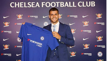 Chelsea announce signing of Morata on a 5-year contract